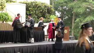 2013 Wofford College Commencement Exercises