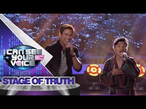 I Can See Your Voice PH: Sam Milby and Ligo Lapid   Stage Of Truth