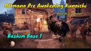 Black Desert Online - Bashim Base - Pre Awakening Kunoichi