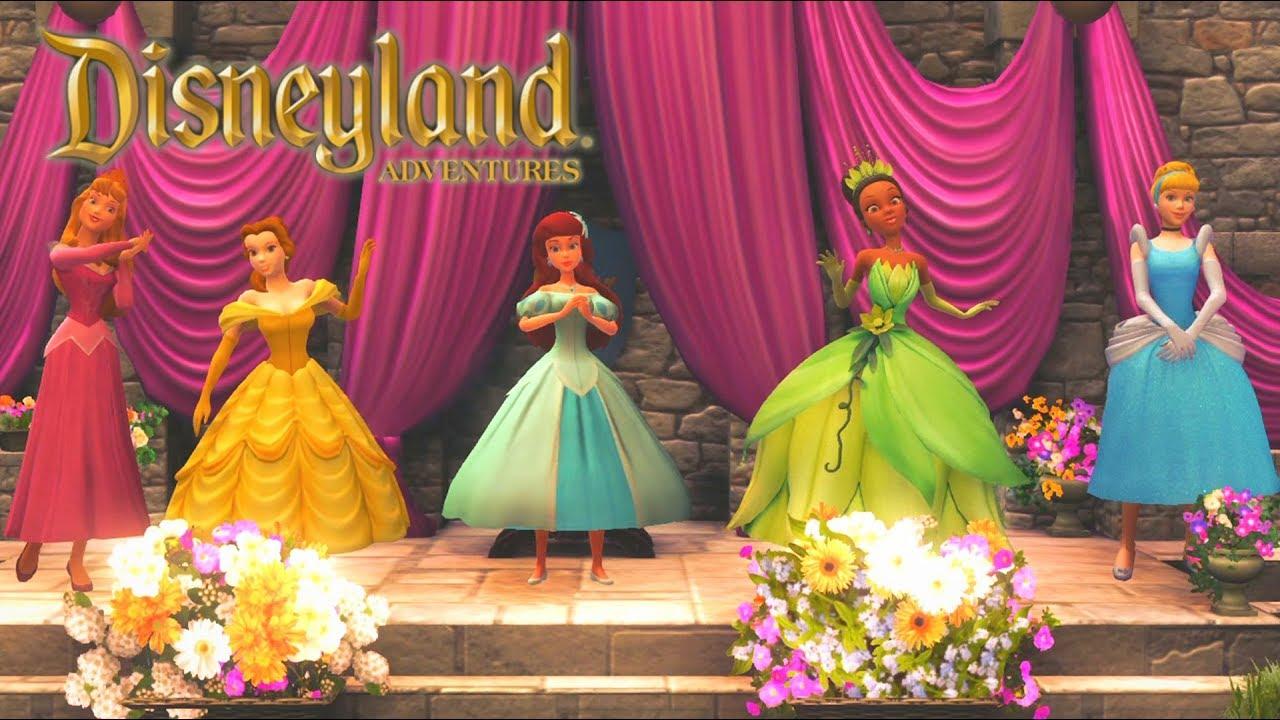 Princesses Disney Jeux Vidéo De Dessin Animé Disney En Français Disneyland Adventures 5