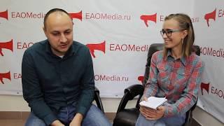 Музыкант Александр Плечко в студии ИА EAOMedia