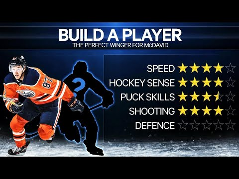 Build A Player: Perfect winger for Connor McDavid