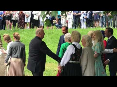 Queen Sonja of Norway 80th birthday, Celebration in Oslo & the opening of the Queens new art gallery