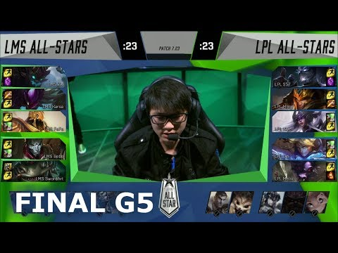 Download Youtube: China vs LMS Game 5 | Grand Finals of LoL 2017 All Star | LPL All-Stars vs LMS All-Stars G5