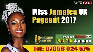 Highlights of Miss Jamaica UK 2017