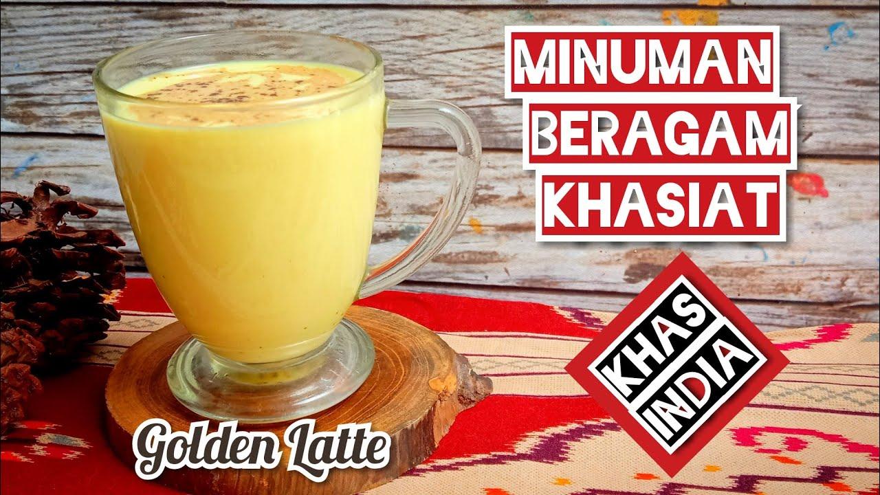 Resep Golden Latte Turmeric Latte Haldi Doodh Golden Milk Youtube