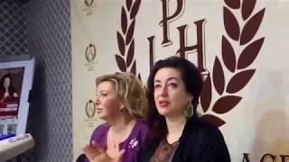 Тамара Гвердцители в Ереване. Пресс-конференция. Избранные моменты