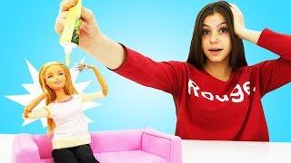 Спа день для куклы Барби. Видео для девочек