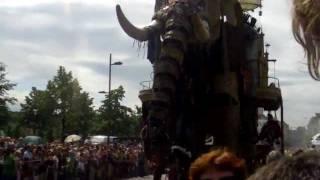 Royal de luxe - Elephant in Antwerp