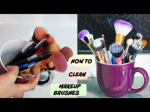 আমি কিভাবে কম খরচে মেকআপ ব্রাশ ক্লিন করি  | How to Clean Makeup Brushes | Shahnaz Shimul