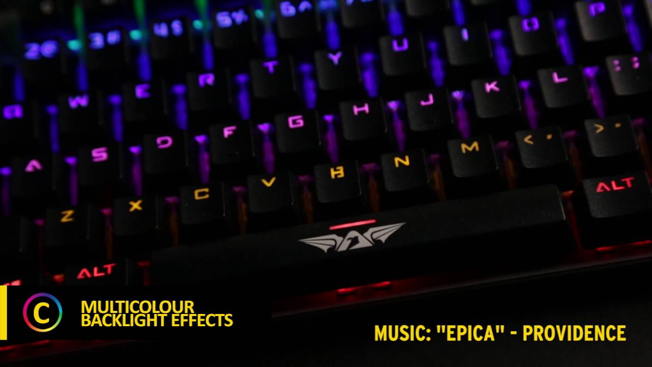 b4f9007de64 ARMAGGEDDON MKA-3C PsychFalcon – Mechanical Gaming Keyboard with Kevlar  Keycaps
