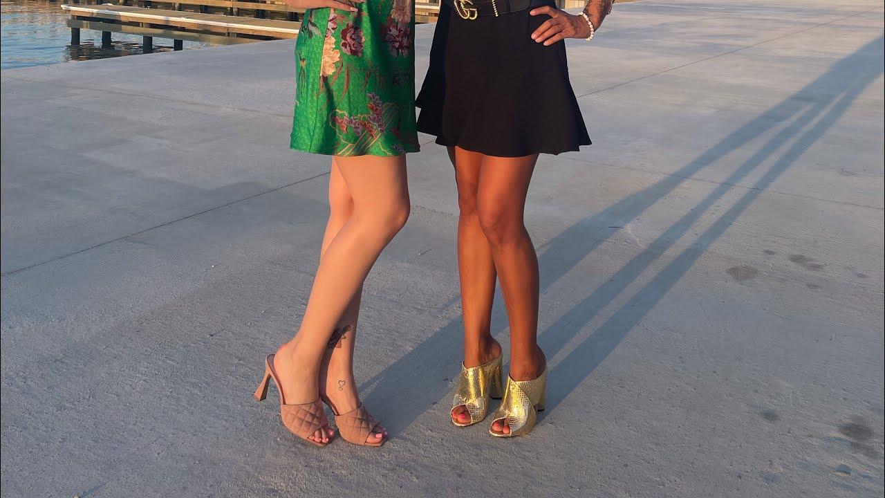 a Little Mules Show | Slides | Shoe Closet by stilettocouturebella