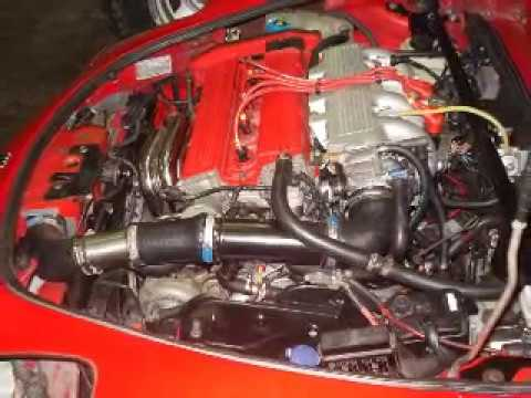 fiat barchetta swap 2000 turbo 16 v youtube