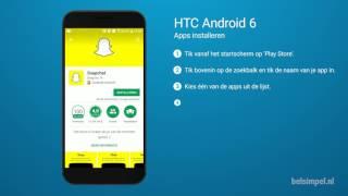 Tips & Tricks - HTC smartphone: Apps installeren (Android 6)