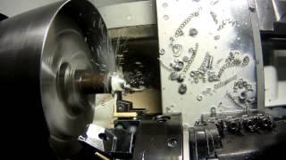 Точение втулок(Токарная обработка стали на станке с ЧПУ,сталь 30 ХГСА,(CNC machine turning,TRENS 520 SE Numerik,SIEMENS,Sinumerik 840 d sl., 2016-04-01T06:20:53.000Z)