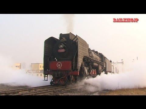 [0027] Yanzhou Coal Mining Company Railway SteamLoco Type QJ 兖州砿業集団鉄路の前進型