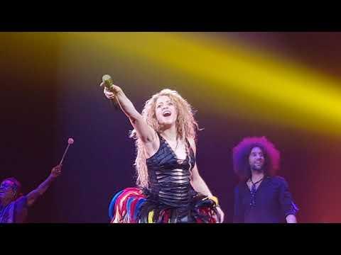 Shakira O2 London 2018