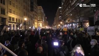 Митинг в Вашингтоне против Трампа