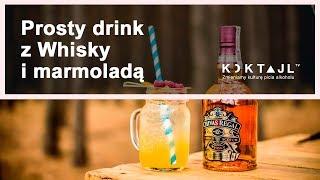 Prosty drink z whisky - Whisky Marmolade Fizz | koktajl.TV