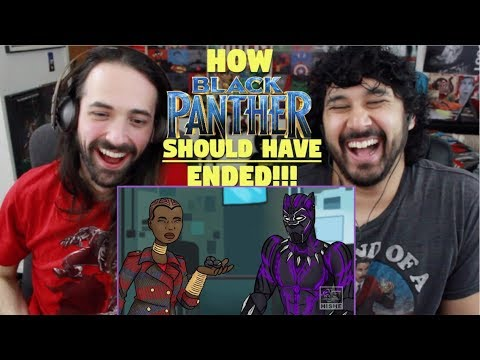 How BLACK PANTHER Should Have Ended - REACTION!!!