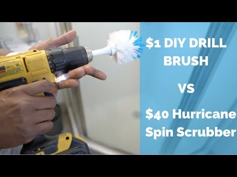 HOW TO MAKE A POWER DRILL BRUSH | DIY