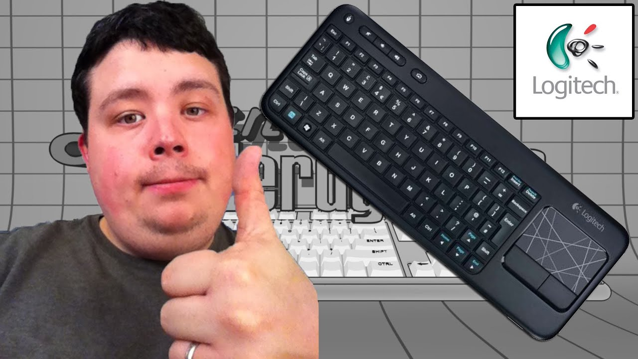 Reviewing Logitech K400 Wireless Touch Keyboard Htpc Media Center Mouse Pad Microsoft Plex Xbmc Youtube