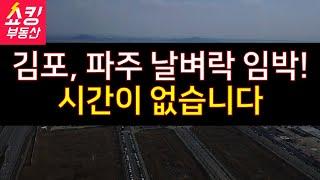 김포, 파주에 집 있으세요? 시간이 없습니다.