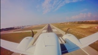 Palma Intl ILS 24R with VERY LOW PASS (Piper PA34 Seneca)