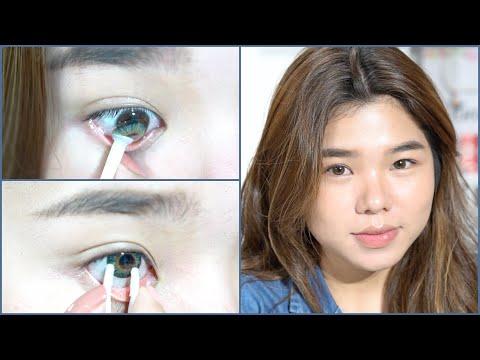 របៀបពាក់ឡេន | How to wear contact lens + Tips + Favorite lens | Sreynea ស្រីនា