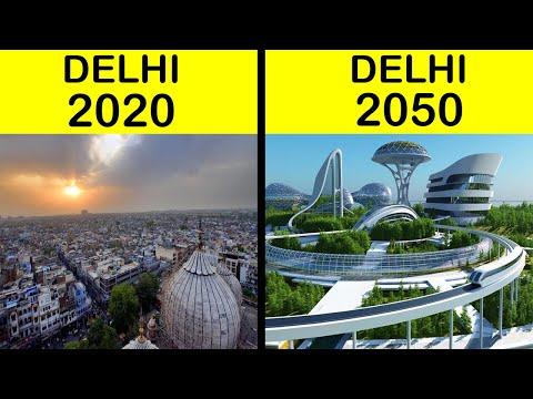 दिल्ली शहर 2050 में कैसा होगा ? | Delhi 2050 me kaisa hoga? | Delhi Upcoming Mega Projects