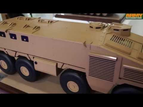 KADDB Jordanian Jordan defense industry DSEI 2015  8x8 wheeled armoured personnel carrier APC