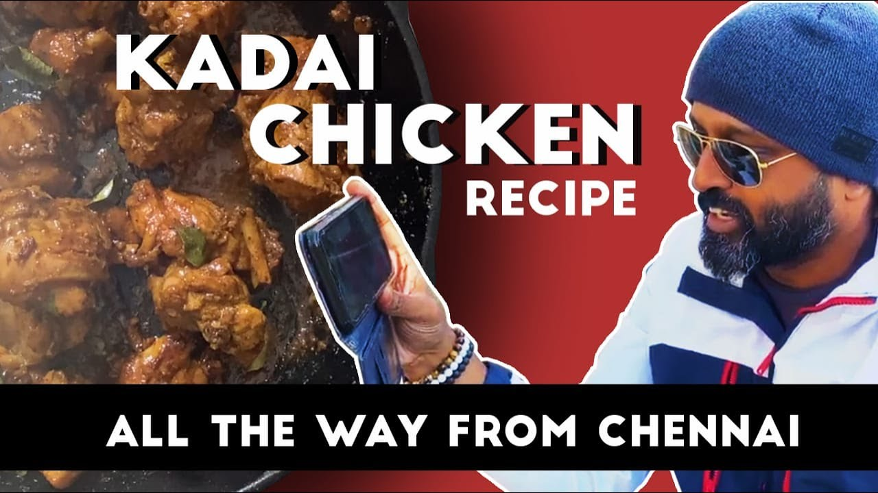 Kadai Chicken Recipe | Dhaba Style Chicken Karahi Recipe | How to make Kadai Chicken at HOME