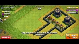 All Air Troops Max Vs 4 Air Sweeper  Max!!Coc Mod Server Gameplay