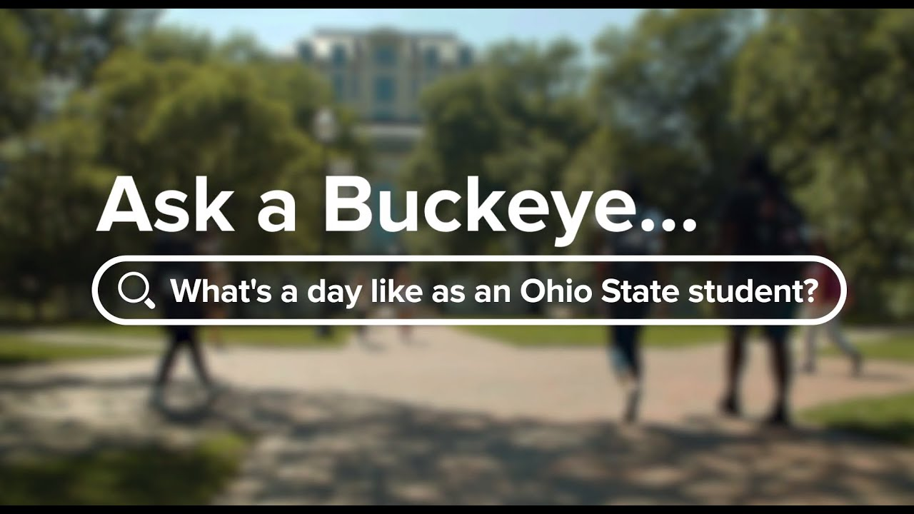 Ask a Buckeye: 2020-21 Day in the Life
