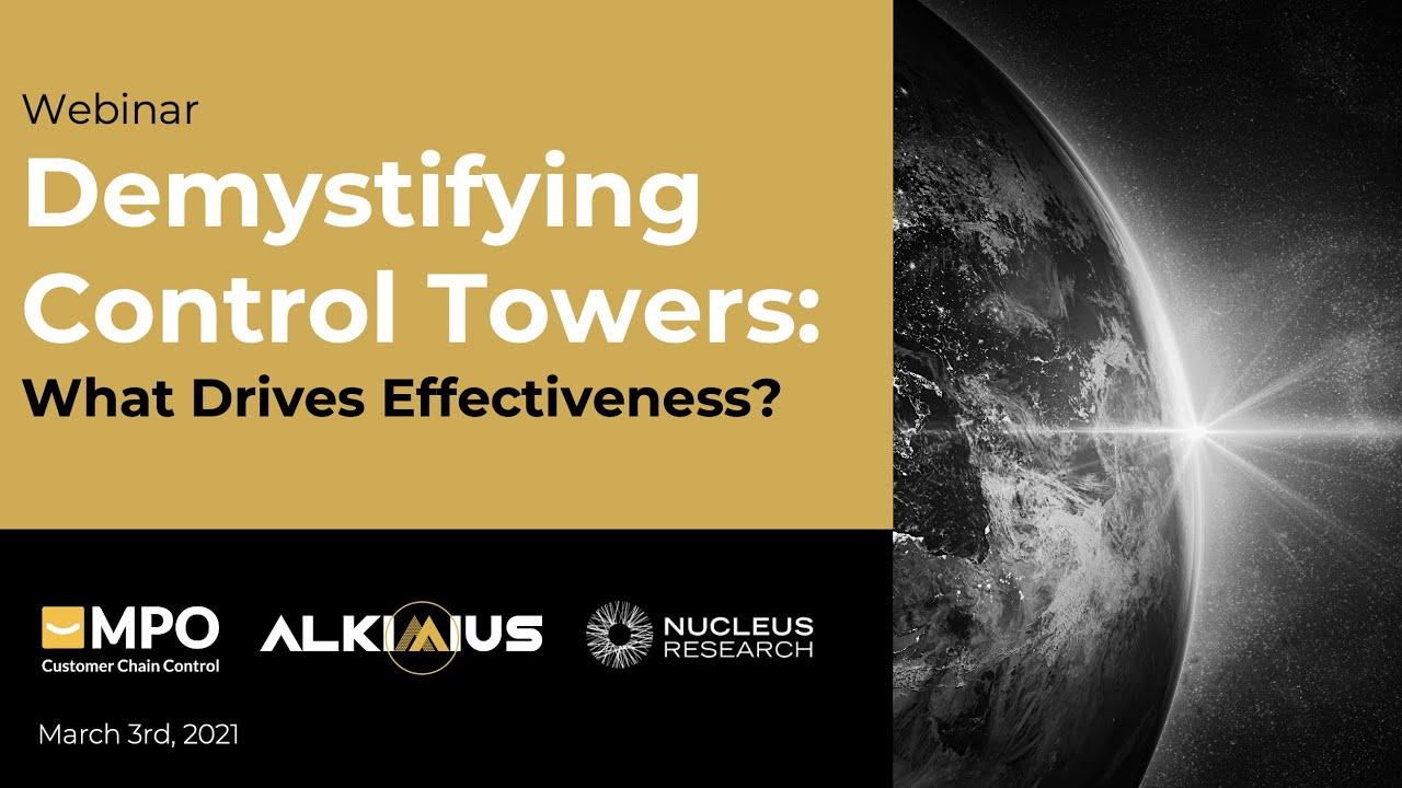Webinar: DEMYSTIFYING CONTROL TOWERS