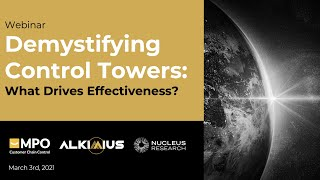 Webinar: DEMYSTIFYING CONTROL TOWERS