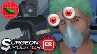 SPACE SURGEORIZING! -- Let's Play Surgeon Simulator: Experience Reality (HTC Vive VR Gameplay)