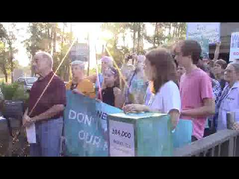 Public interest: no Nestle withdrawal --Michael Roth, Pres. Our Santa Fe River