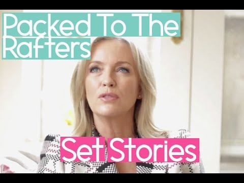 Rebecca Gibney: Packed To The Rafters Set Stories