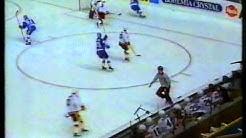 Jääkiekon MM 1990 alkusarja Suomi-Saksan Liittotasavalta 26.04.1990
