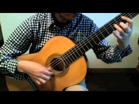 60歳でアルハンブラの想いで挑戦中ギターソロposted by enjalmo03