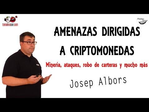 Amenazas dirigidas a criptomonedas