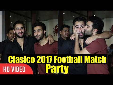 Armaan jain And Adar Jain At Celebrity Clasico 2017 Party | Virat Kohli Foundation's