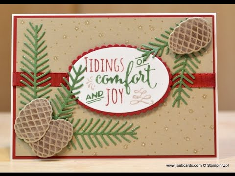 No.220 - Tidings of Comfort & Joy - JanB UK Stampin' Up! Demonstrator Independent