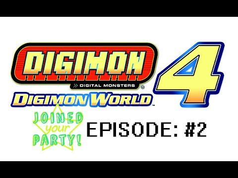 Learning to manage digi-life - Joined Your Party Digimon World 4 Episode 2