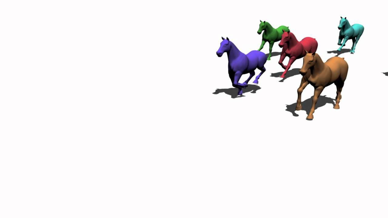 3D Animation Test - Running Horses - YouTube - photo#36