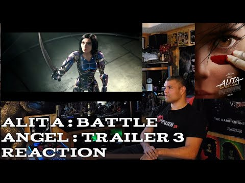 Alita : Battle Angel : Trailer 3 - Reaction!