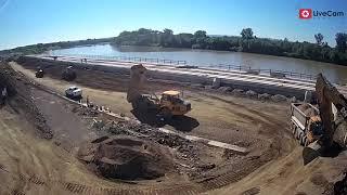 Luka Slavonski Brod ubrzani video kompletne izgradnje 2019.-2021.