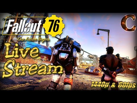 Fallout 76 PC Live Stream in 1440p / 60fps! Part 20: West Virginia ID at Charleston + Tips/Tricks thumbnail