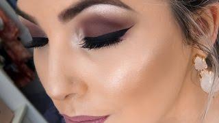 Maquiagem Mauve (Inspiração Primavera)